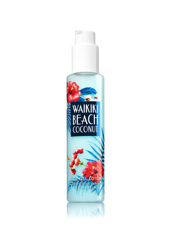 Signature Collection Waikiki Beach Coconut Aloe Gel Lotion - Bath And Body Works