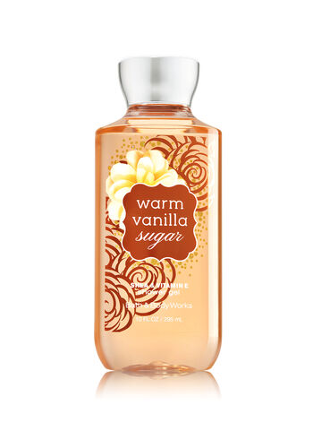 Signature Collection Warm Vanilla Sugar Shower Gel - Bath And Body Works