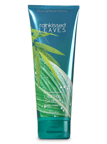 Signature Collection Rainkissed Leaves Ultra Shea Body Cream - Bath And Body Works
