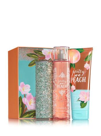 Pretty as a Peach Springtime Sparkle Gift Set