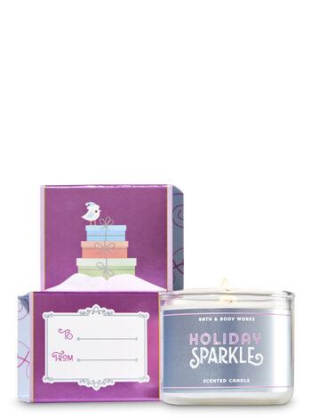 Holiday Sparkle Mini Candle
