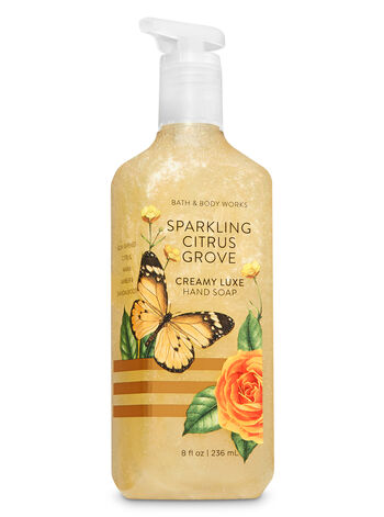 Sparkling Citrus Grove Creamy Luxe Hand Soap - Bath And Body Works