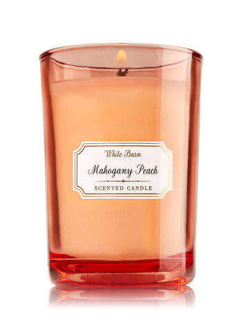 Mahogany Peach Medium Candle - Bath And Body Works