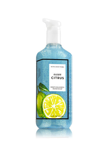Ocean Citrus Deep Cleansing Hand Soap - Bath And Body Works