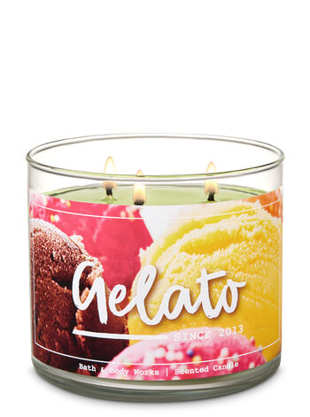 Gelato 3-Wick Candle - Bath And Body Works