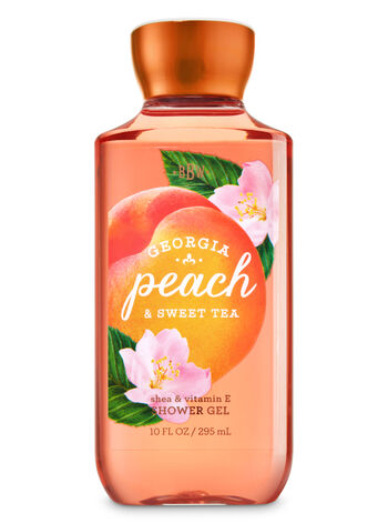 Signature Collection Georgia Peach Sweet Tea Shower Gel - Bath And Body Works
