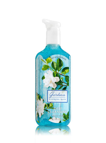 Gardenia & Spring Rain Deep Cleansing Hand Soap - Bath And Body Works