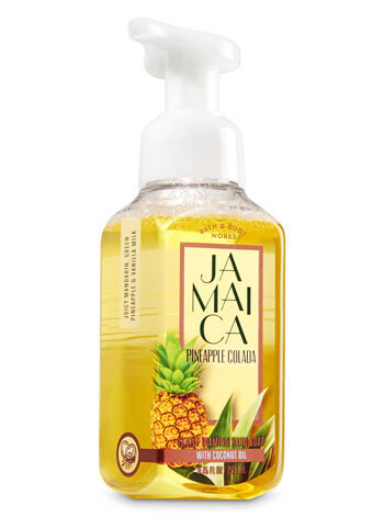 Jamaica Pineapple Colada Gentle Foaming Hand Soap - Bath And Body Works