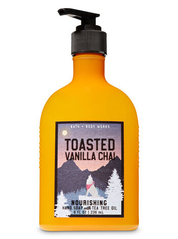 Toasted Vanilla Chai Hand Soap with Tea Tree Oil - Bath And Body Works