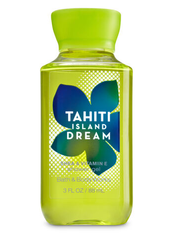 Signature Collection Tahiti Island Dream Travel Size Shower Gel - Bath And Body Works