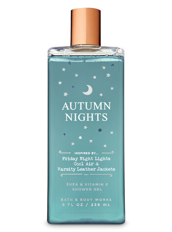 Signature Collection Autumn Nights Shower Gel - Bath And Body Works