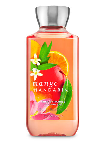 Signature Collection Mango Mandarin Shower Gel - Bath And Body Works