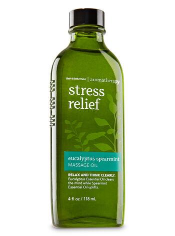 Aromatherapy Eucalyptus Spearmint Massage Oil - Bath And Body Works