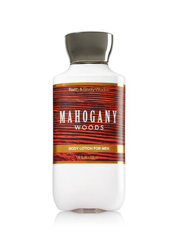 Signature Collection Mahogany Woods For Men Body Lotion - Bath And Body Works