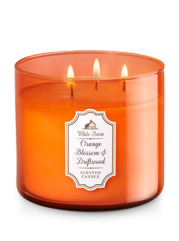 Orange Blossom & Driftwood 3-Wick Candle - Bath And Body Works