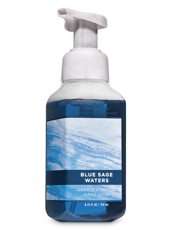 Blue Sage Waters Gentle Foaming Hand Soap - Bath And Body Works