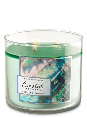 Coastal Jasmine 3-Wick Candle - Bath And Body Works