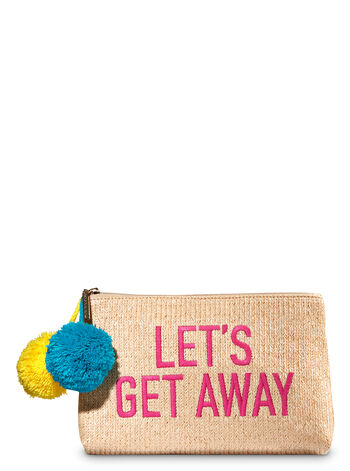 Let's Get Away Cosmetic Bag - Bath And Body Works