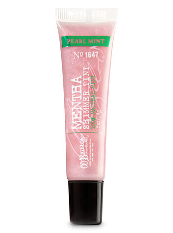C.O. Bigelow Pearl Mint Mentha Shimmer Lip Tint - Bath And Body Works