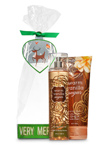 Warm Vanilla Sugar Very Merry Gift Set