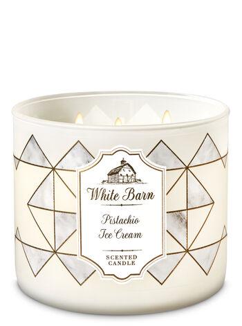 Pistachio Ice Cream 3-Wick Candle - Bath And Body Works
