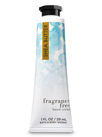 Signature Collection Fragrance Free Hand Cream - Bath And Body Works