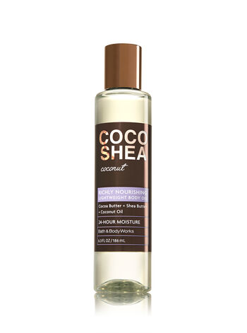 Signature Collection CocoShea Coconut Lightweight Body Oil - Bath And Body Works