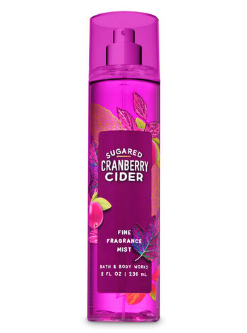 Signature Collection Sugared Cranberry Cider Fine Fragrance Mist - Bath And Body Works