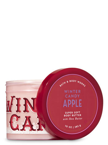 Signature Collection Winter Candy Apple Super Soft Body Butter - Bath And Body Works