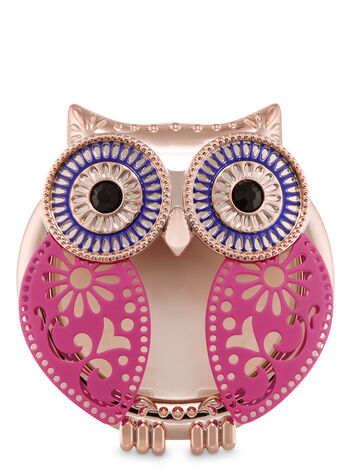 Pierced Owl Visor Clip Scentportable Holder - Bath And Body Works