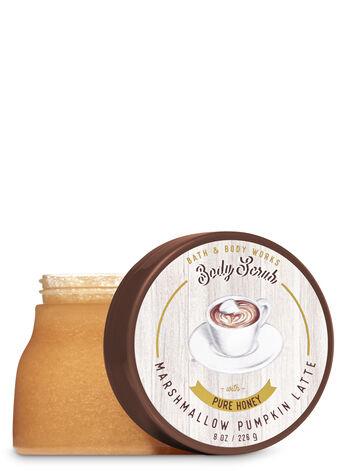 Signature Collection Marshmallow Pumpkin Latte Body Scrub - Bath And Body Works