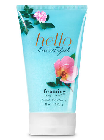 Signature Collection Hello Beautiful Foaming Sugar Scrub - Bath And Body Works