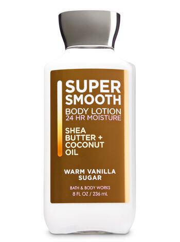 Warm Vanilla Sugar Super Smooth Body Lotion - Bath And Body Works