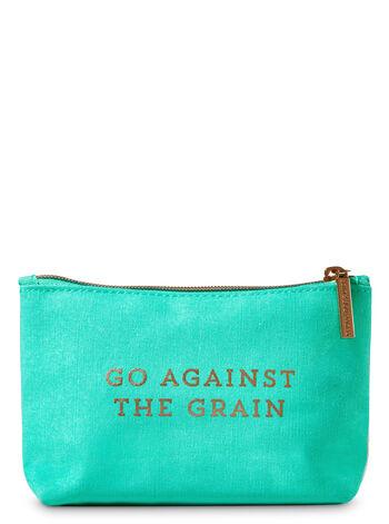 Against the Grain Cosmetic Bag Cosmetic Bag