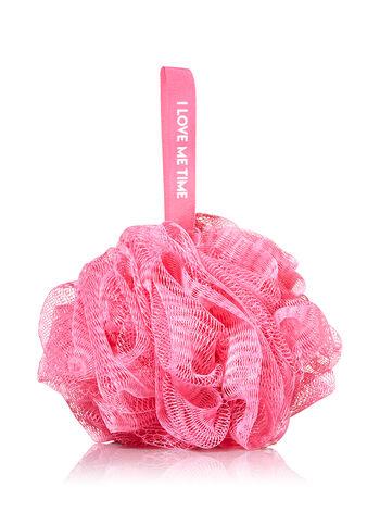 Dark Pink Shower Sponge - Bath And Body Works