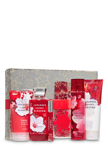 Japanese Cherry Blossom Ultimate Christmas Box Gift Set