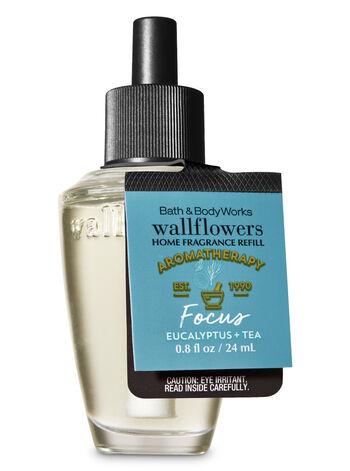 Aromatherapy Focus - Eucalyptus & Tea Wallflowers Fragrance Refill - Bath And Body Works