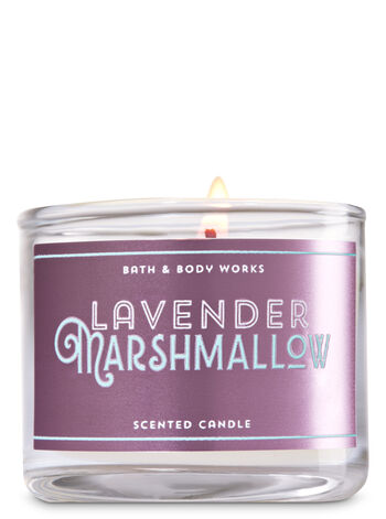 Lavender Marshmallow Mini Candle