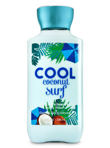 Signature Collection Cool Coconut Surf Body Lotion - Bath And Body Works