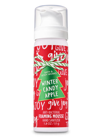 Winter Candy Apple Foaming Hand Sanitizer - Bath And Body Works