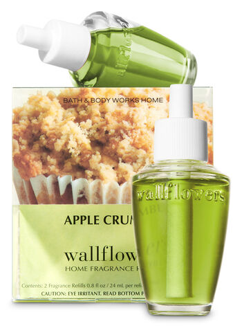 Apple Crumble Wallflowers Refills, 2-Pack - Bath And Body Works