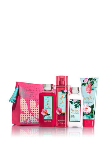 Hello Beautiful All the Essentials Cosmetic Bag
