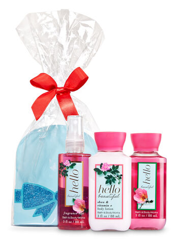 Hello Beautiful Mini Scents & Sparkle Gift Set - Bath And Body Works