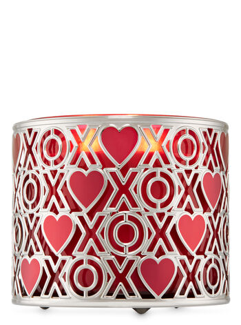 XoXo 3-Wick Candle Holder - Bath And Body Works