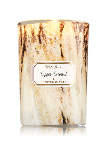 Copper Coconut Medium Candle - Bath And Body Works