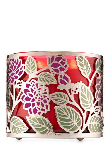 Dahlia 3-Wick Candle Holder - Bath And Body Works
