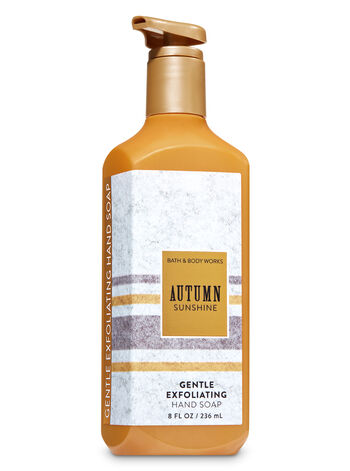 Autumn Sunshine Gentle Exfoliating Hand Soap - Bath And Body Works