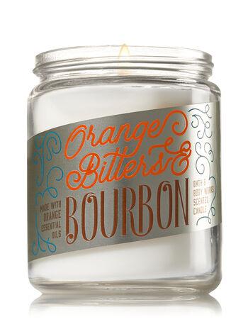 Orange Bitters & Bourbon Medium Candle