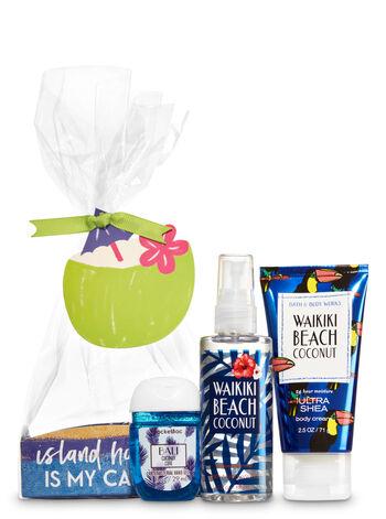 Waikiki Beach Coconut Island Hopping Gift Set