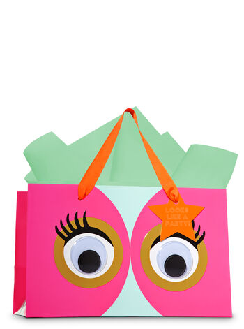 Goggly Party Eyes Gift Bag - Bath And Body Works